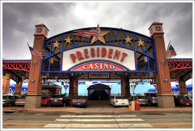 admiral casino president