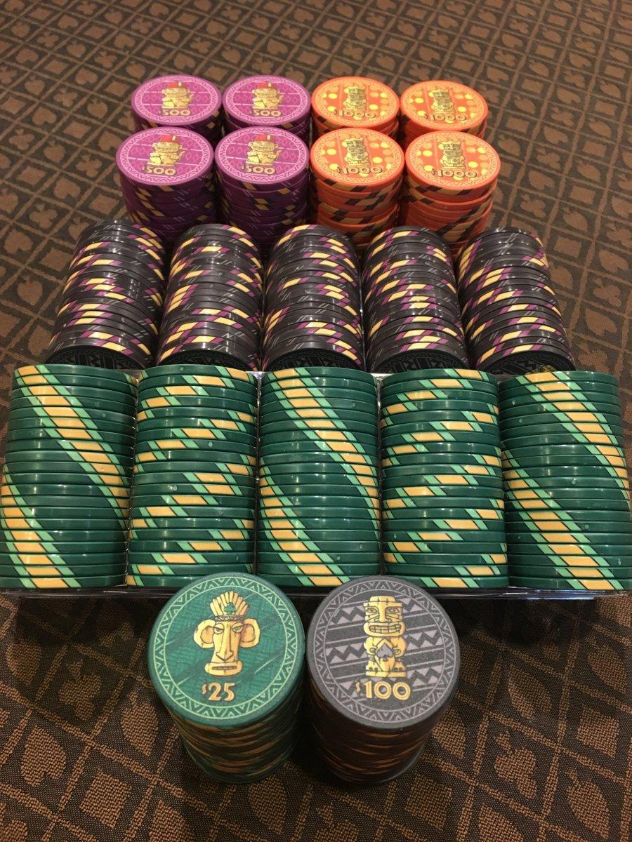 Sold Tiki Kings Tourney Set Poker Chip Forum