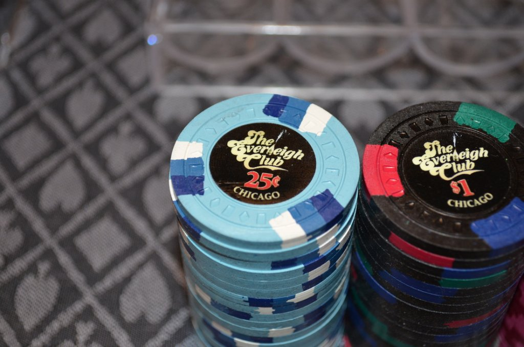 Everleigh Club 25c and $1 chip stacks .jpg