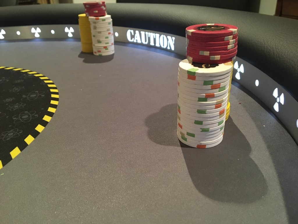 Enjoyable Why A Raised Rail Poker Chip Forum Home Interior And Landscaping Ologienasavecom