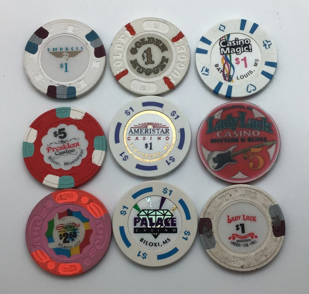 Chips from Other States in Quantity | Poker Chip Forum
