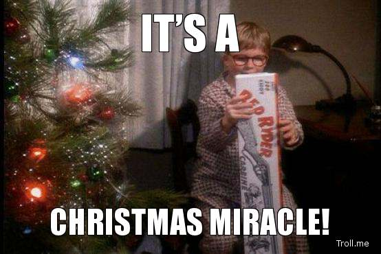 Funny Christmas Movie Meme : Christmas miracle meme miracle.best of the funny meme