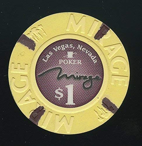 Mirage $1 yellow poker room chip.jpg