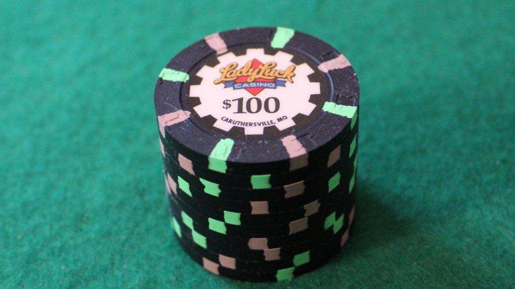 Paulson Lady Luck $100 # 02.JPG