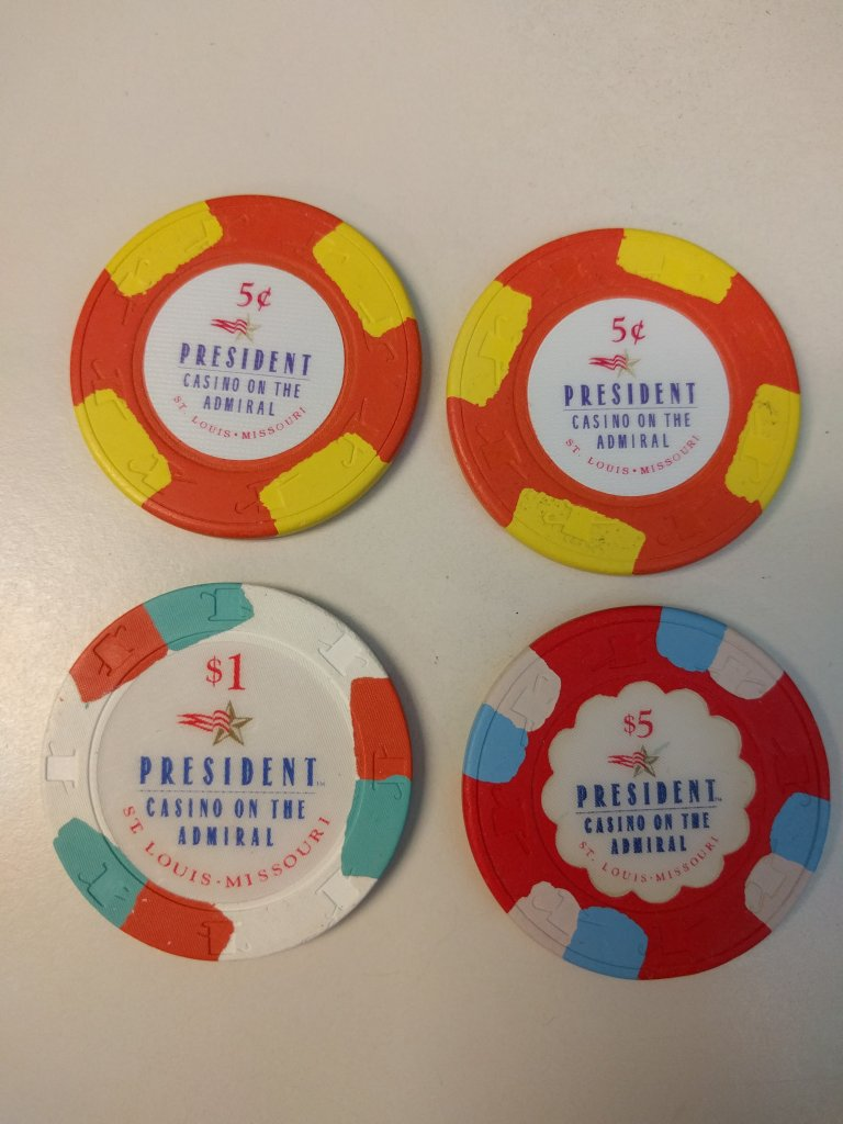 PCA nickels relabel project - Poker Chip Forum