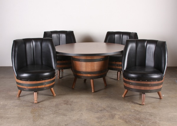 Help my decide my poker room theme poker chip forum for Pottery barn poker table