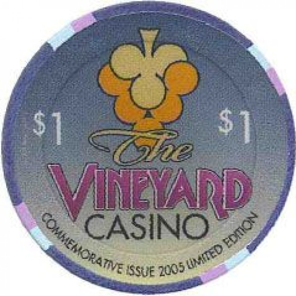 Vineyard Casino - Commemorative Issue