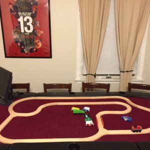 My Poker Table in my Mancave/Office.