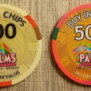 Paulson Palms Buy In (100) (500) 48mm