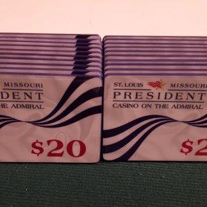 PCA $20 plaques x 20