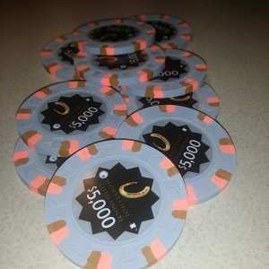 Horseshoe Casino Cleveland Chips - $5000s