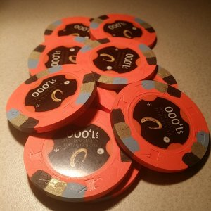 Horseshoe Casino Cleveland Chips - $1000s