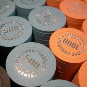 BCC GCR 1000 chips Tounament set