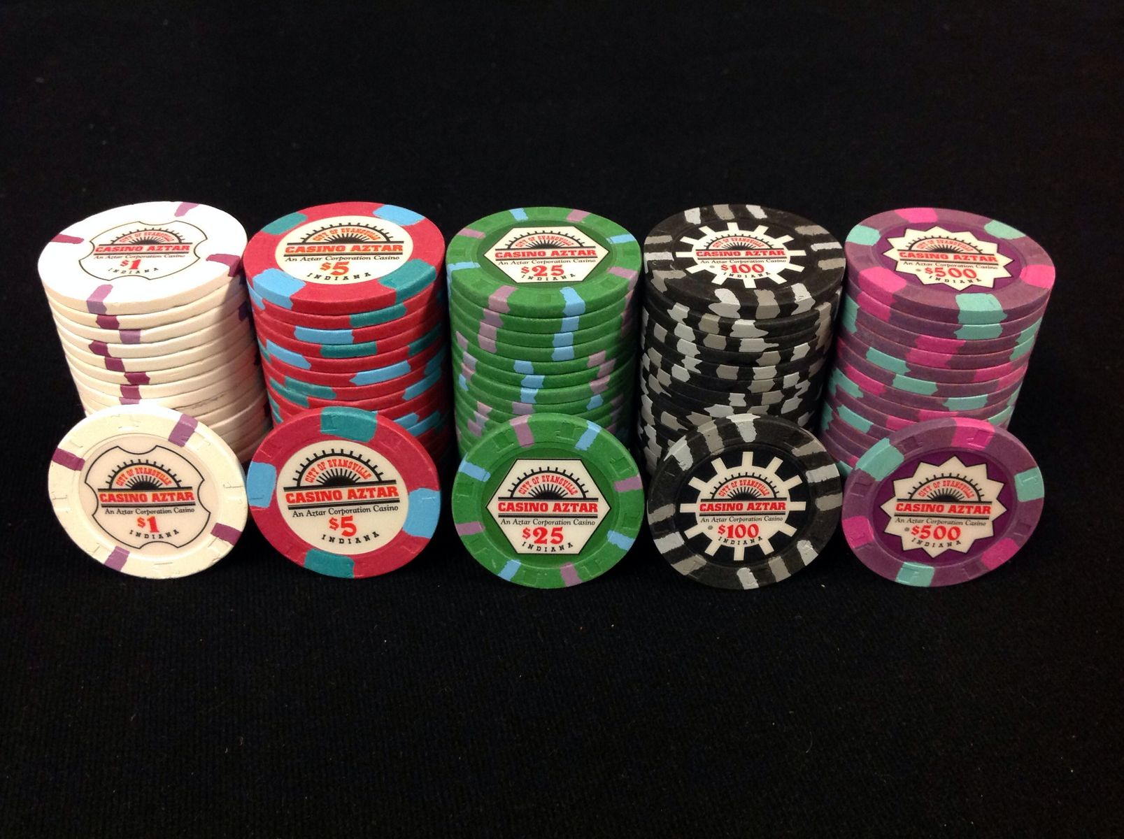 Casino aztar poker chips britney spears photos purchase by online casino