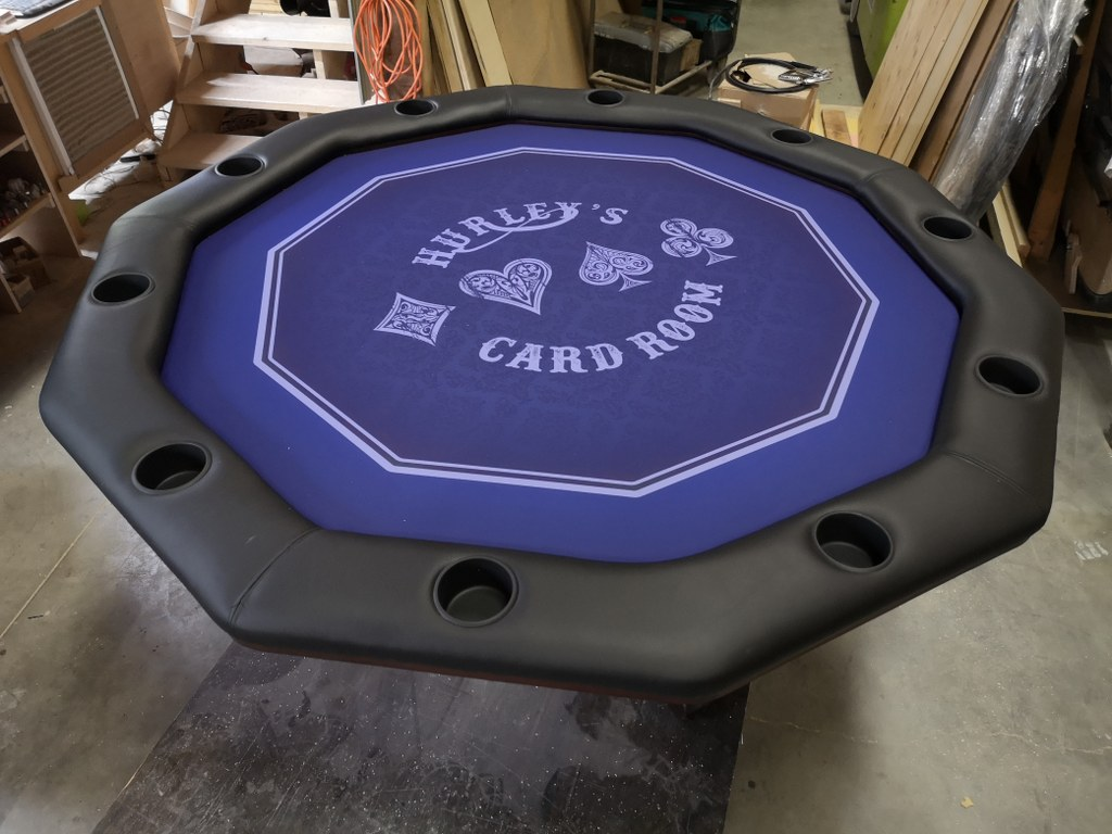 Hurley Card Room Table #7