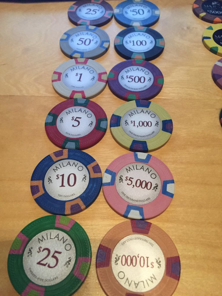 Need recommendation - chips for a home cash game - Poker ...